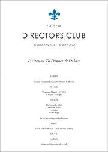 Invitation_To_A_Directors_Club_Dinner_&_Debate_On_March_10th_2016